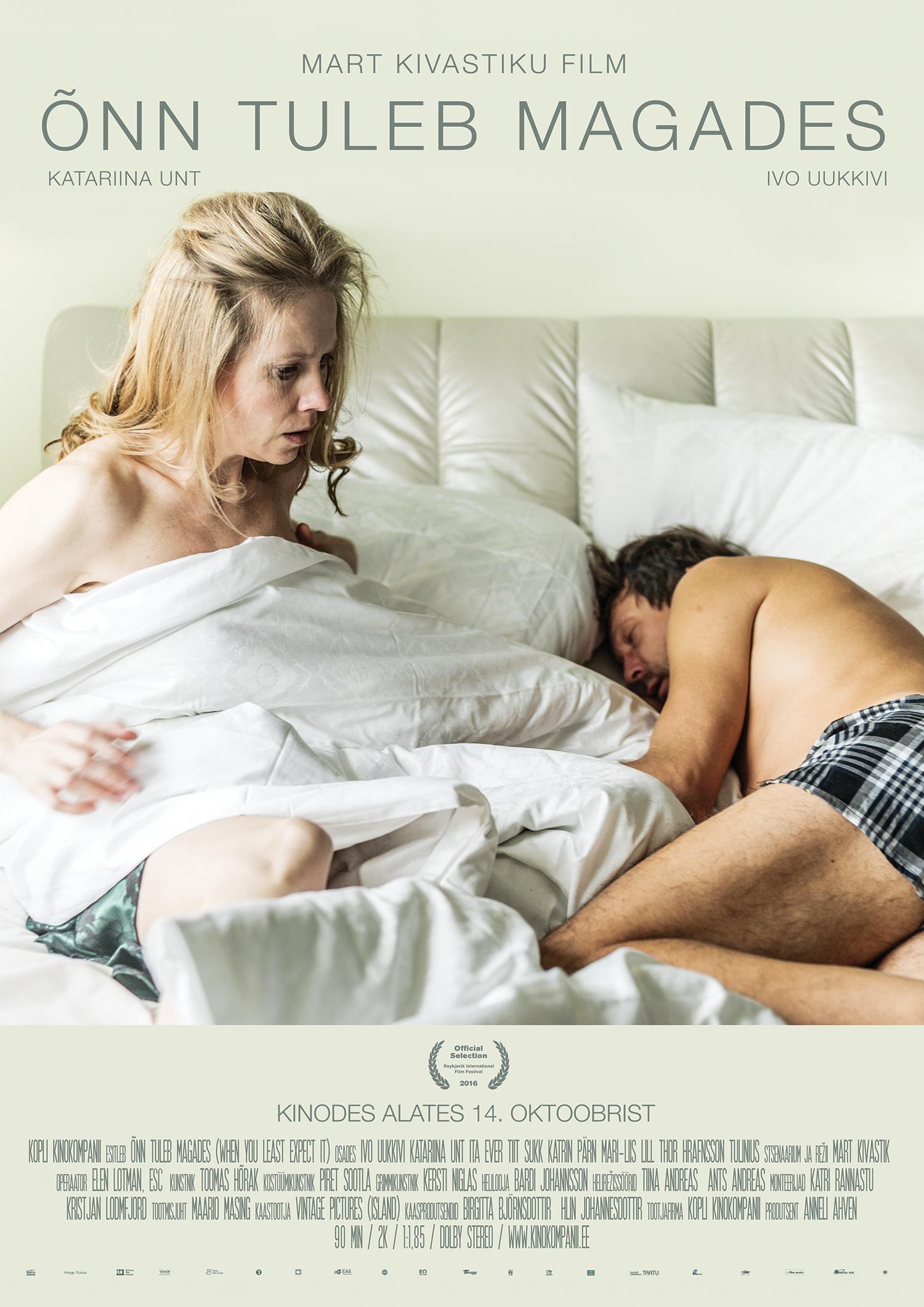 """Kinos uus mängufilm """"Õnn tuleb magades"""""""