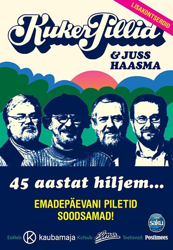 Kukerpillid ja Juss Haasma '45 aastat hiljem' Tammemäe laululaval