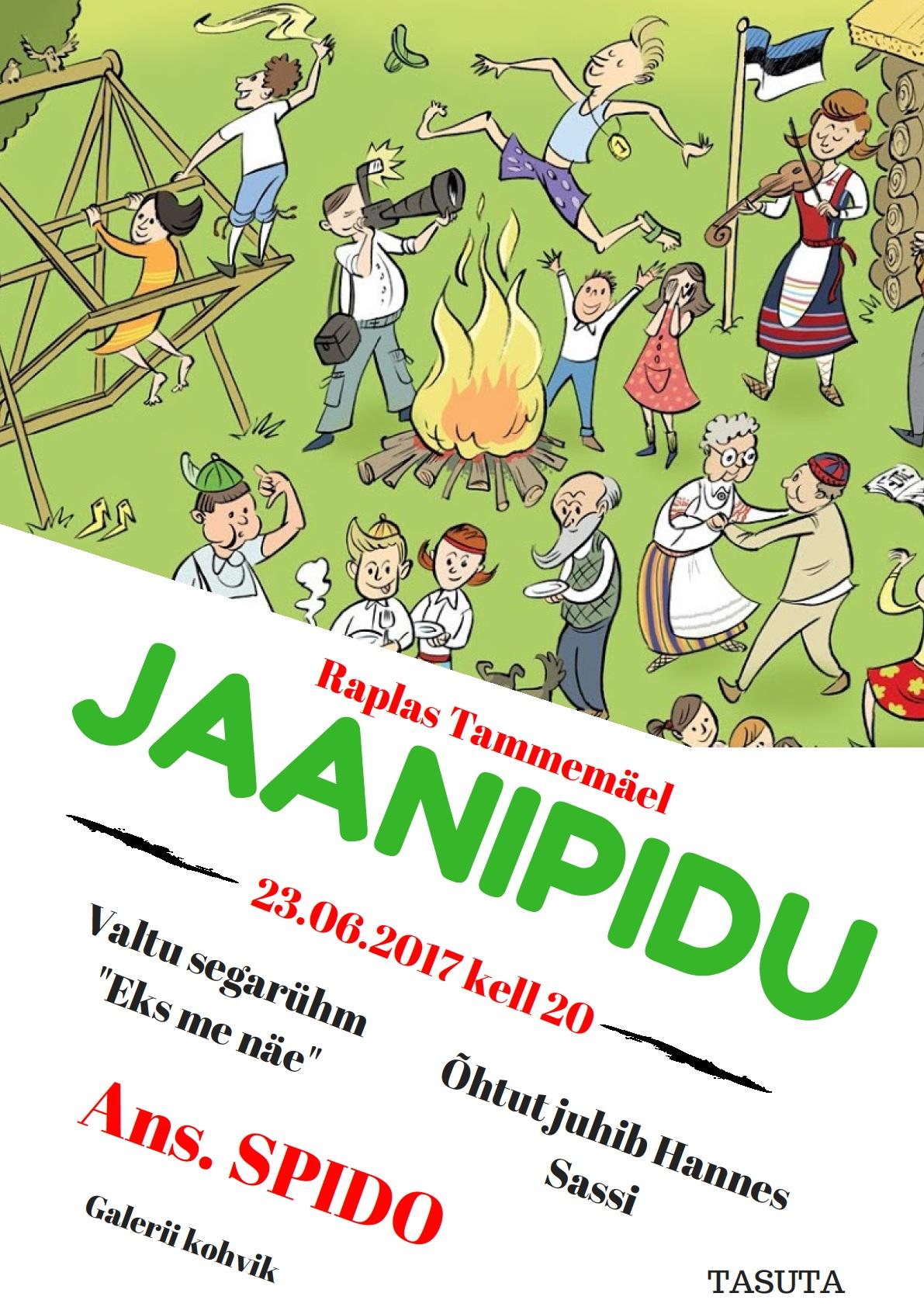 Jaanipidu Tammemäel