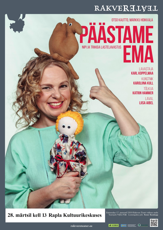 """Rakvere Teatri etendus lastele """"Päästame ema"""""""