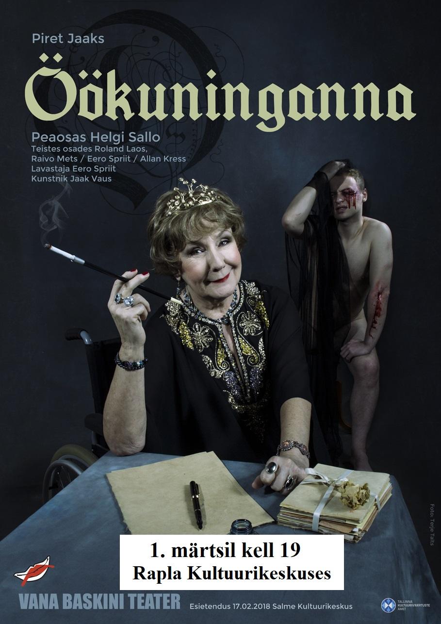 """Vana Baskini Teatri etendus """"Öökuninganna"""""""