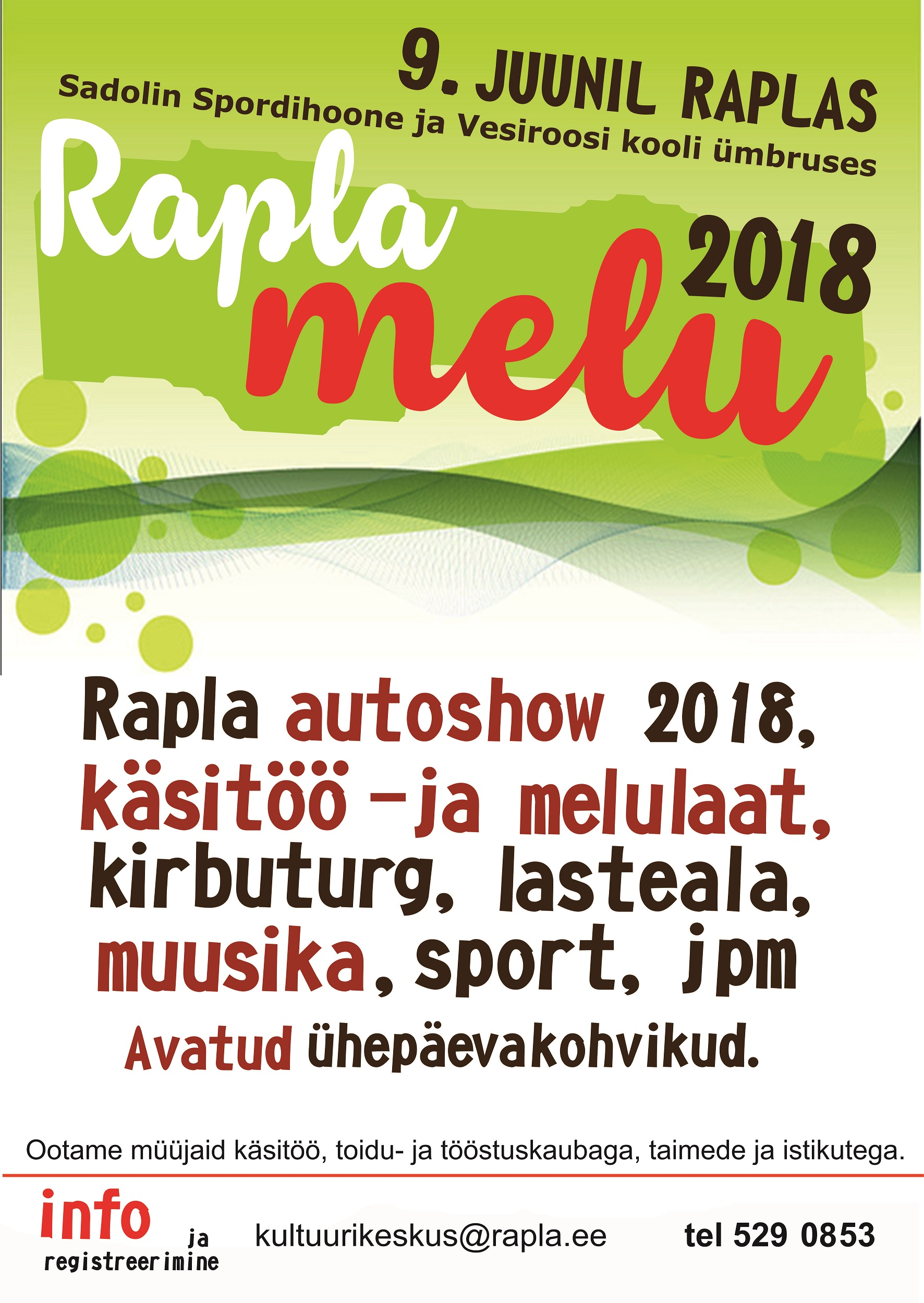 Rapla melu 2018