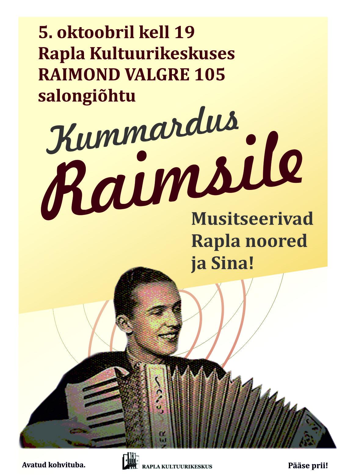 Raimond Valgre 105