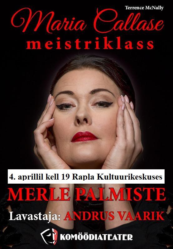 "Komöödiateatri etendus ""Maria Callase meistriklass"""