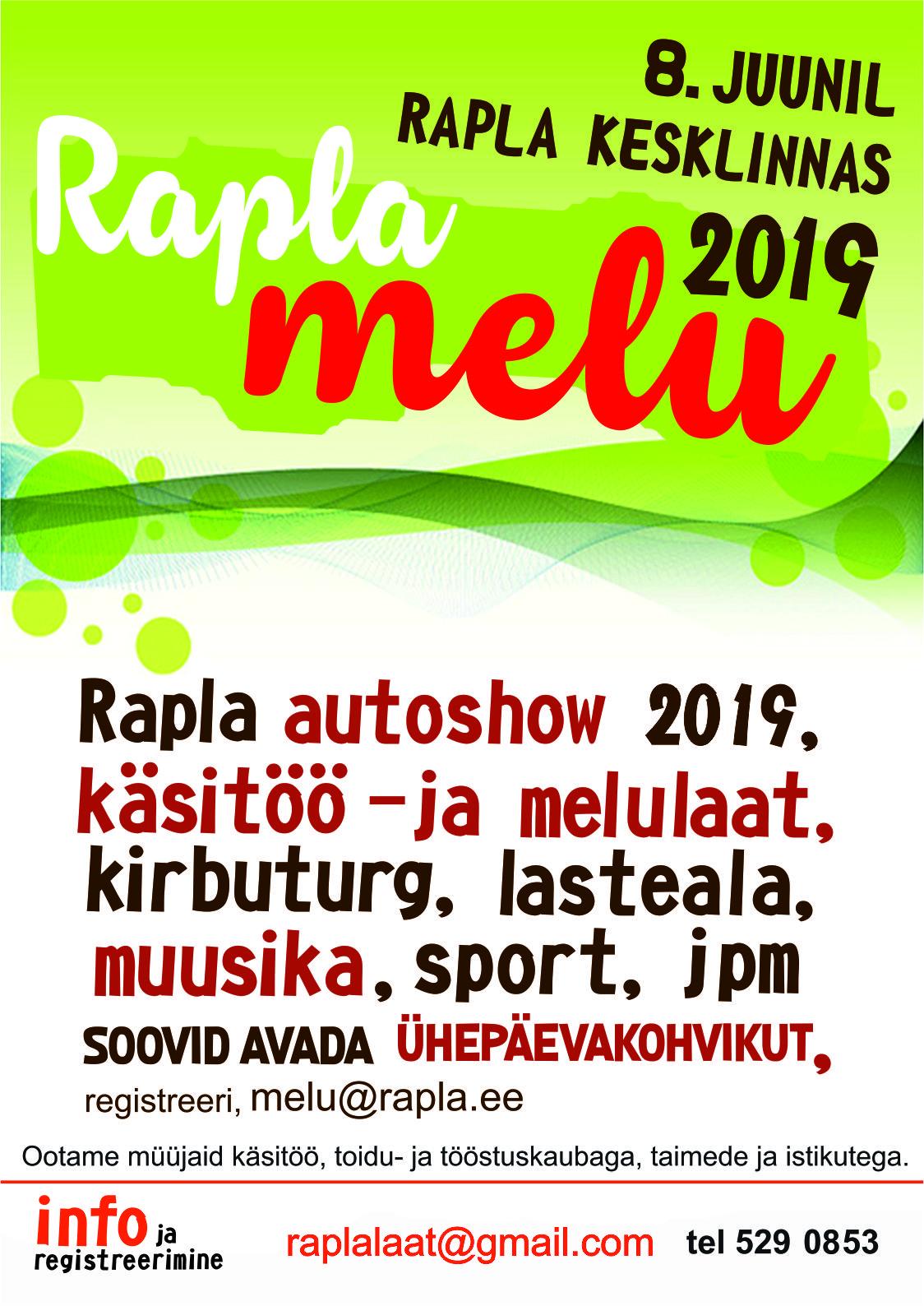 Rapla melu 2019
