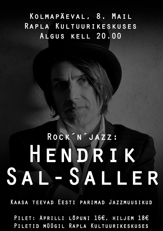 Rock´n´jazz: Hendrik Sal-Saller