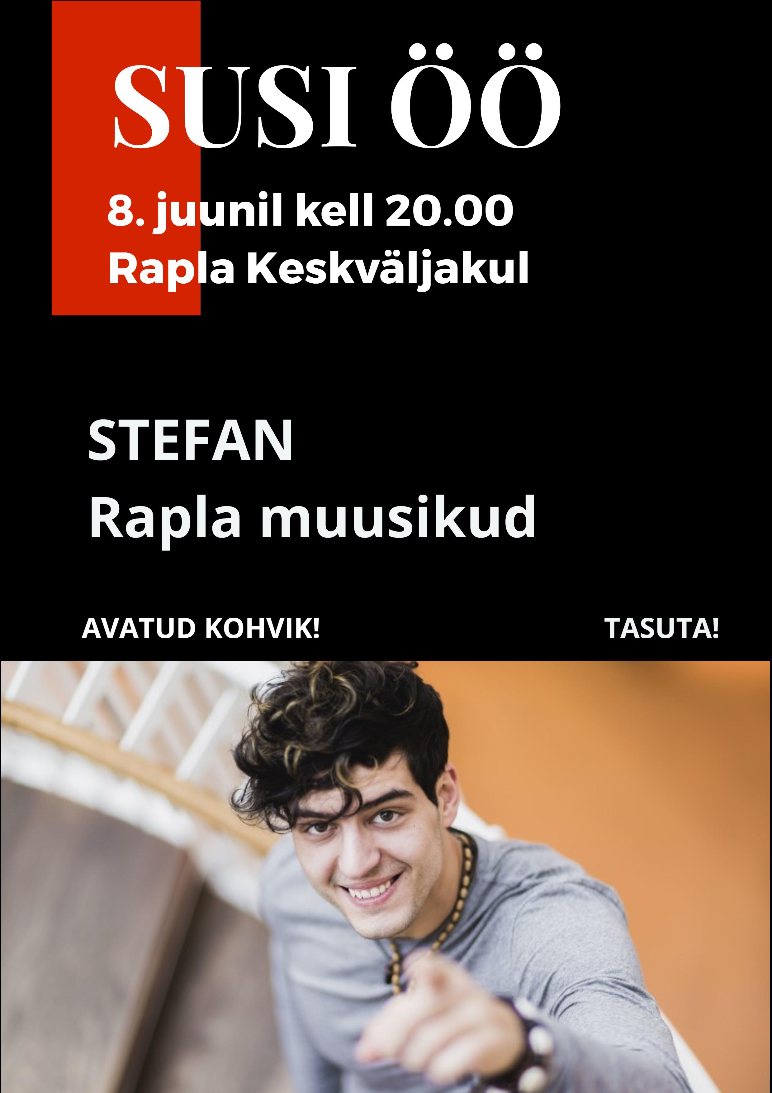 Susi öö kontsert Stefaniga