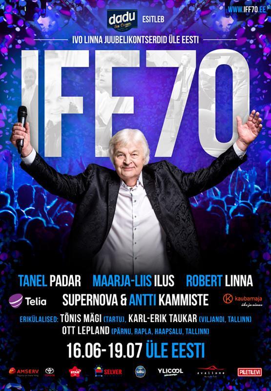 """Ivo Linna juubelikontsert """"IFF 70"""""""