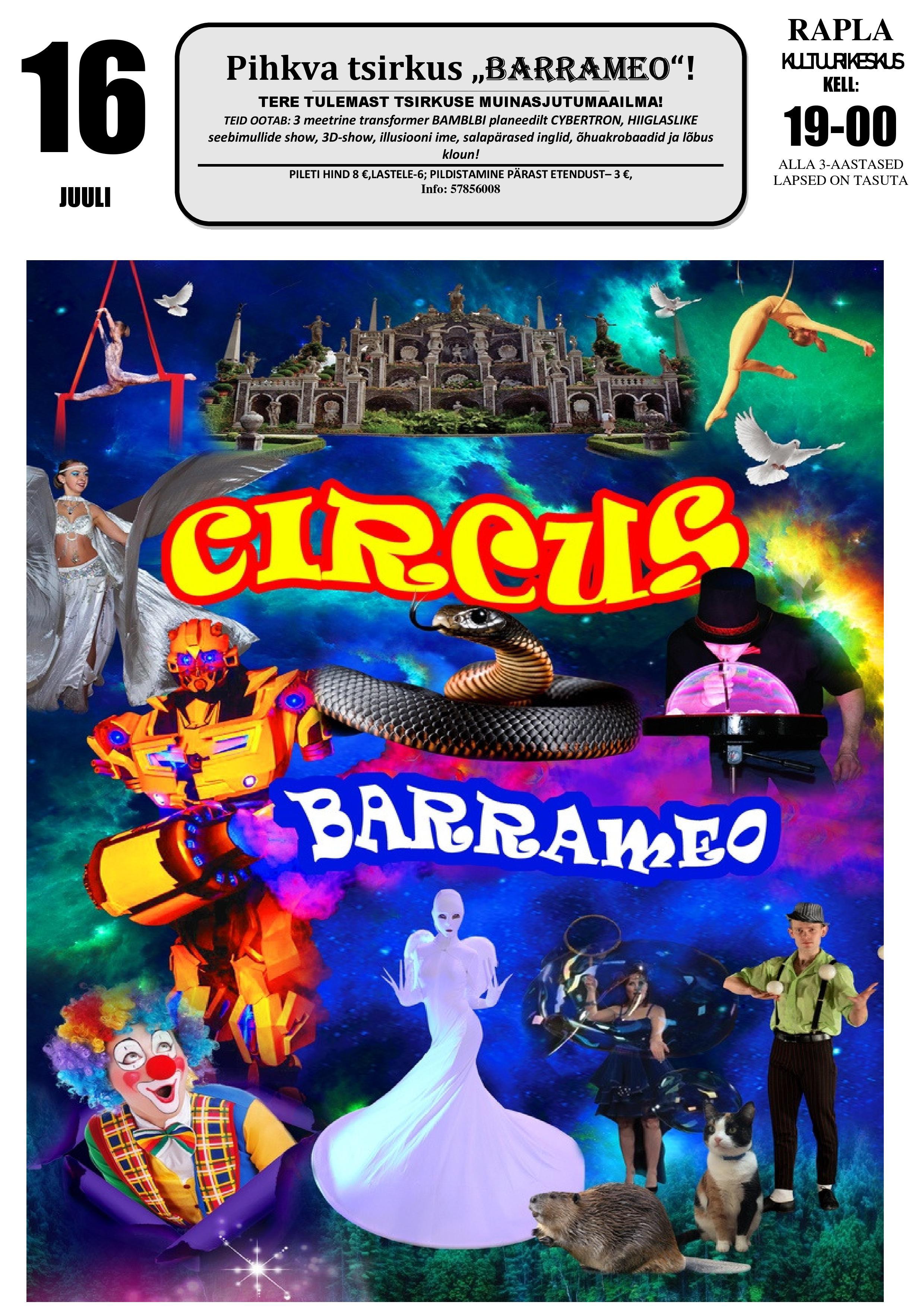 "Pihkva tsirkus ""Barrameo"""