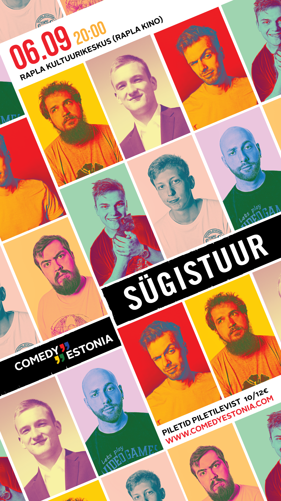 Comedy Estonia esitleb: Sügistuur 2019