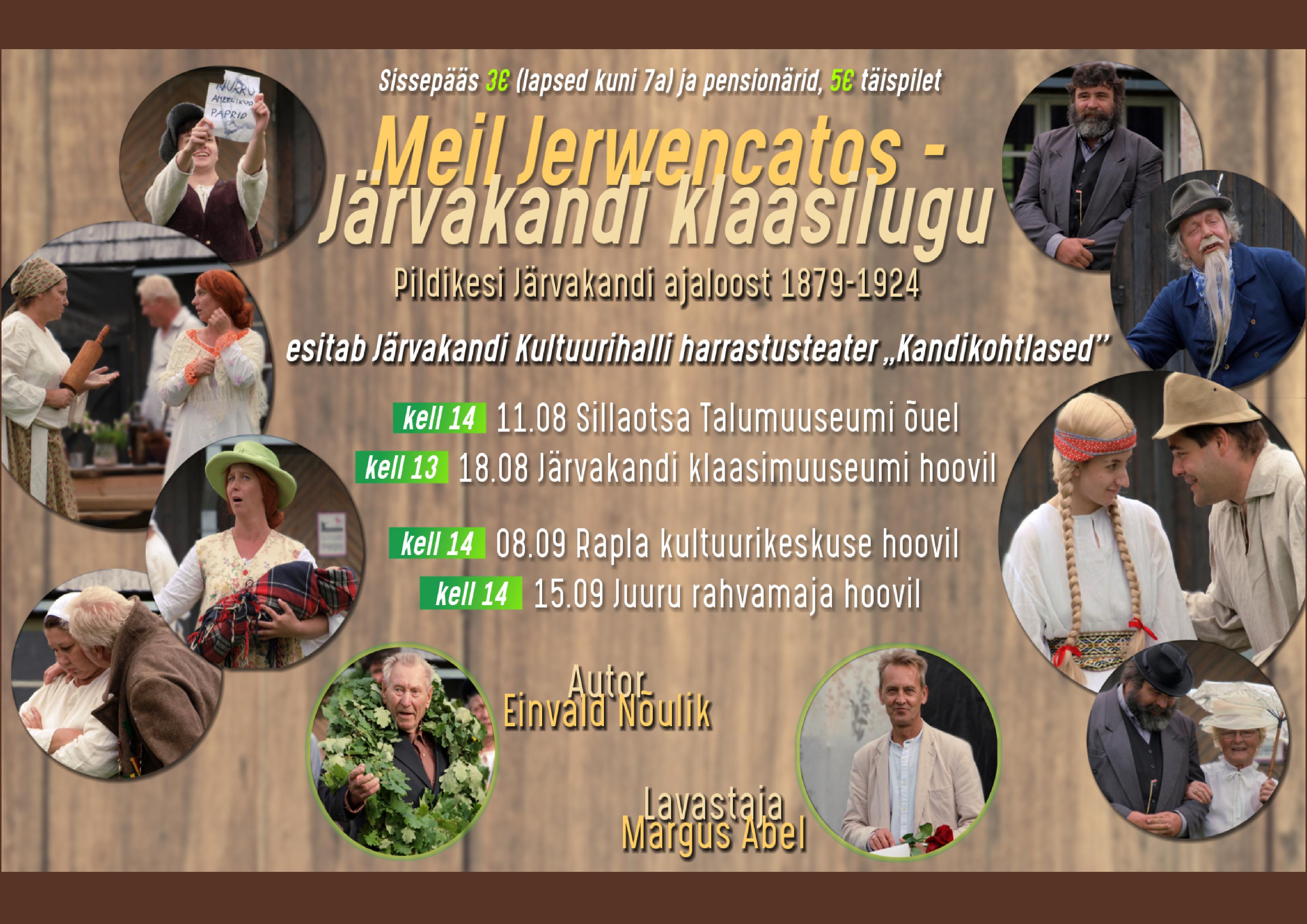 """Etendus """"Meil Jerwencatos- Järvakandi klaasilugu"""""""