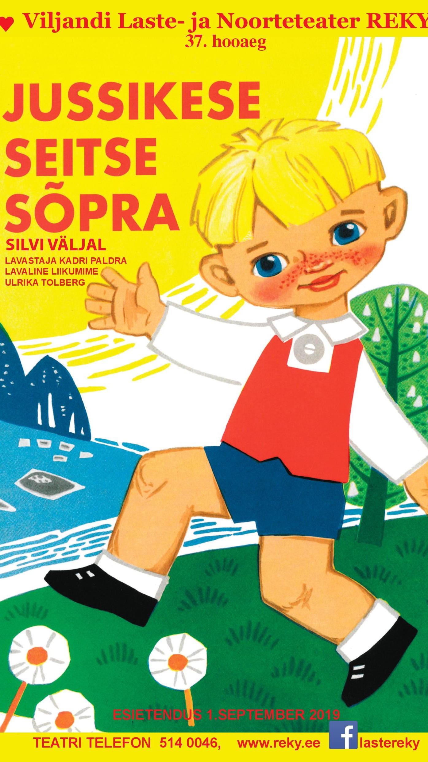 """Viljandi Laste- ja Noorteteater Reky etendus """"Jussikese seitse sõpra"""""""