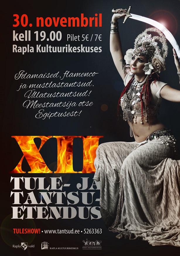 XII Tule- ja tantsuetendus