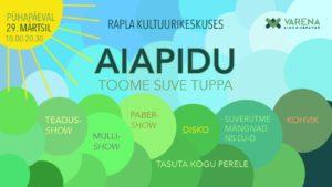 Jääääre kevadtuur: Rapla Kultuurikeskus-jääb ära