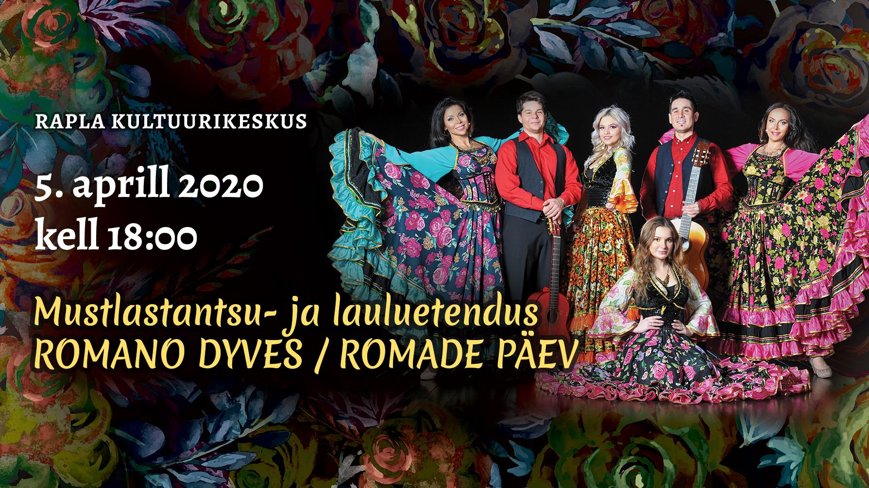 Mustlastantsu- ja lauluetendus- toimub 27.09.2020!