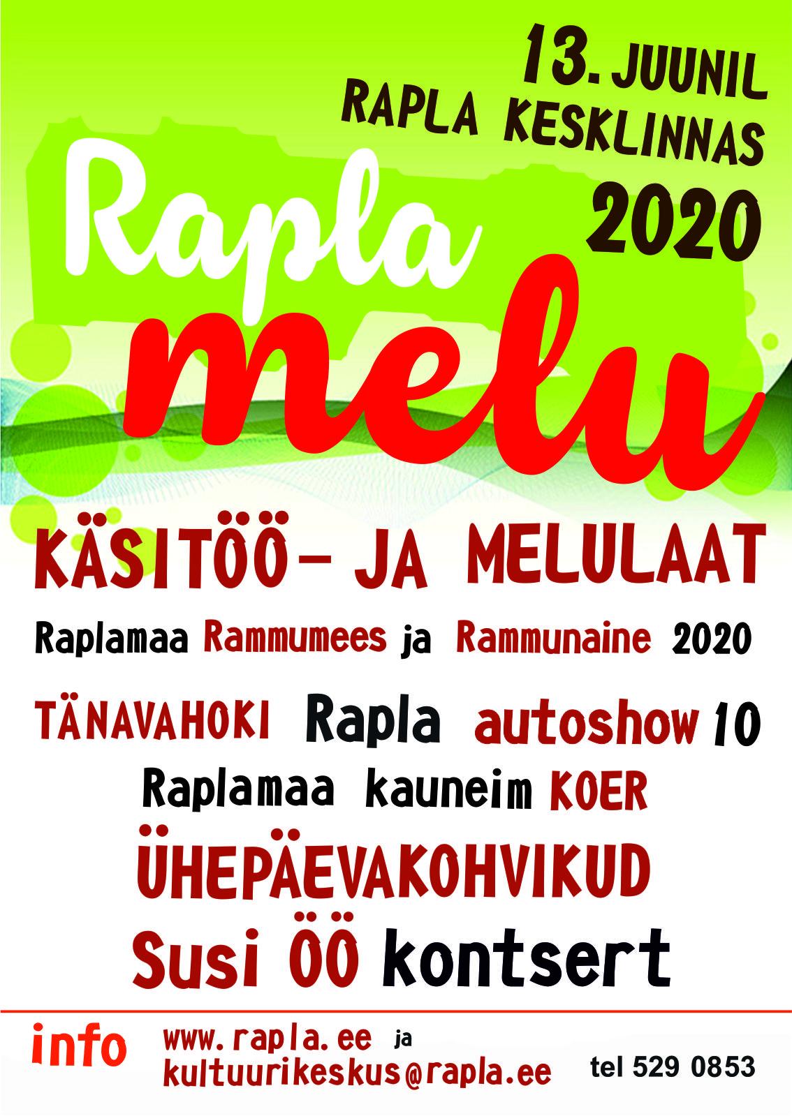 Rapla melu 2020