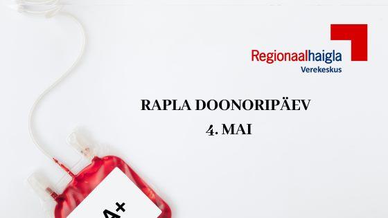 Doonoripäev Raplas