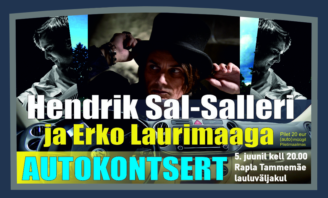 Hendrik Sal-Saller ja Erko Laurimaa autokontsert Tammemäel