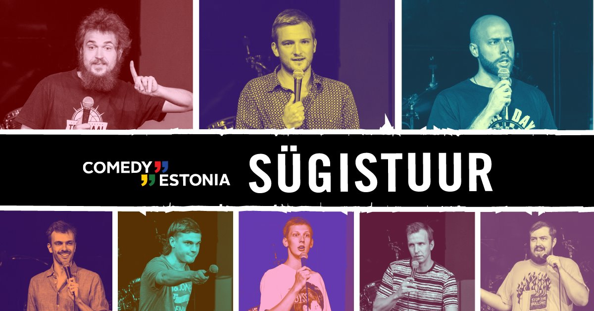 Comedy Estonia Sügistuur