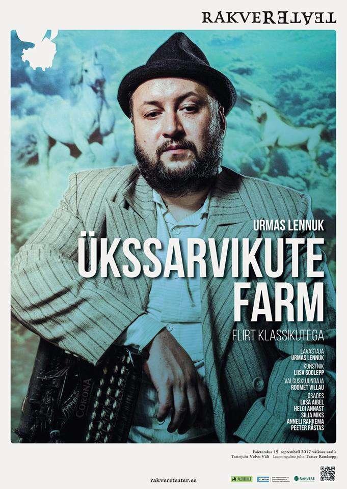 """Rakvere Teatri etendus """"ÜKSSARVIKUTE FARM"""""""